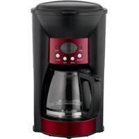 LOGIK LC10DCR12 Coffee Maker - Red, Red