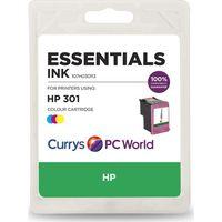 ESSENTIALS H301 Tri-colour HP Ink Cartridge
