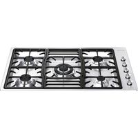 SMEG Classic PGF95-4 Gas Hob - Stainless Steel, Stainless Steel