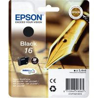 EPSON Pen & Crossword T1621 Black Ink Cartridge, Black
