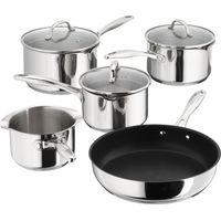 STELLAR 7000 5-piece Pan Set - Stainless Steel, Stainless Steel