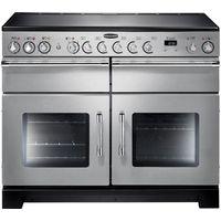 RANGEMASTER Excel 110 Electric Ceramic Range Cooker - Stainless Steel, Stainless Steel