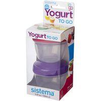SISTEMA 35 ml Yoghurt To Go Pot - Twin Pack