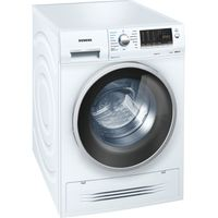 SIEMENS WD14H421GB Washer Dryer - White, White