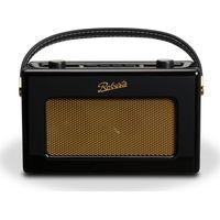 ROBERTS RD60 Revival DAB Digital Radio - Gloss Black, Black