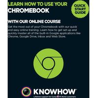 KNOWHOW Learn How To Use Your Chromebook