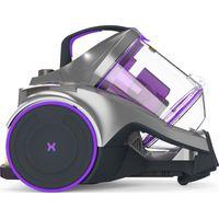 VAX Dynamo Power Reach C85-Z2-RE Cylinder Bagless Vacuum Cleaner - Graphite, Purple & Black, Graphite