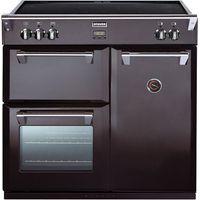STOVES Richmond 900Ei Electric Induction Range Cooker - Black, Black