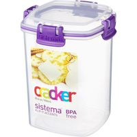 SISTEMA Rectangular 0.9-litre Cracker Box