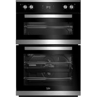 BEKO Select BXTF25300X Electric Built-under Double Oven - Stainless Steel, Stainless Steel