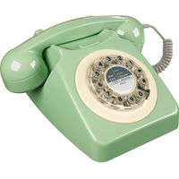 WILD & WOLF 746 Corded Phone - Swedish Green, Green