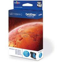 BROTHER LC1100HY-C Cyan Ink Cartridge, Cyan