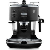 DELONGHI Icona Micalite ECOM311.BK Coffee Machine Black, Black