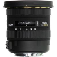 SIGMA EX DC HSM 10-20 mm f/3.5 Wide-angle Zoom Lens - for Canon