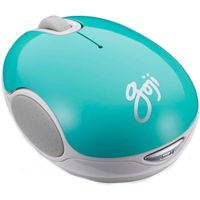 GOJI GMWLTQ15 Wireless Blue Trace Mouse - Turquoise, Blue