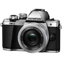 OLYMPUS E-M10 Mark II Compact System Camera with 14-42 mm f/3.5-5.6 Zoom Lens - Silver, Silver