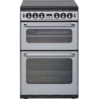 NEW WORLD 550TSIDOM Gas Cooker - Silver, Silver