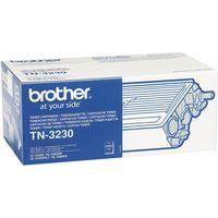 BROTHER TN3230 Black Toner Cartridge, Black