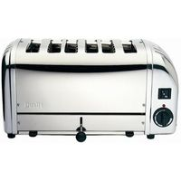 DUALIT Vario 378701 6-Slice Toaster - Stainless Steel, Stainless Steel