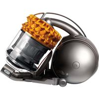 DYSON Cinetic DC54 Multi Floor 2015 Cylinder Bagless Vacuum Cleaner - Iron & Yellow, Yellow
