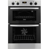 ZANUSSI ZOD35517XA Electric Double Oven - Stainless Steel, Stainless Steel