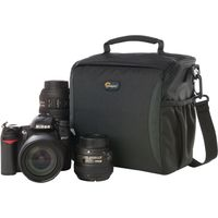 LOWEPRO Format 160 DSLR Camera Bag - Black, Black