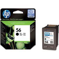 HP 56 Black Ink Cartridge, Black