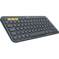 LOGITECH K380 Wireless Keyboard - Dark Grey, Grey