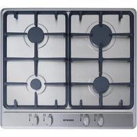 STOVES SGH600C Gas Hob - Stainless Steel, Stainless Steel