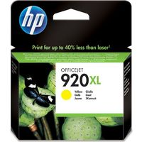 HP 920XL Yellow Ink Cartridge, Yellow
