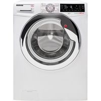 HOOVER Wizard DWTL413AIW3 Smart Washing Machine - White, White