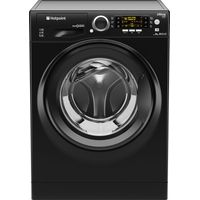 HOTPOINT Ultima S-line RPD10457JKK Washing Machine - Black, Black