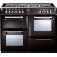STOVES Richmond 1000DFT Dual Fuel Range Cooker - Black, Black