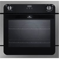 NEW WORLD NW601FP Electric Oven - Black & Stainless Steel, Stainless Steel