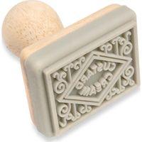 EDDINGTONS Traditional Biscuit Stamp - Custard Cream, Cream