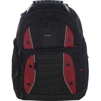 TARGUS Drifter 16 Laptop Backpack - Black & Red, Black