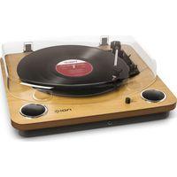 ION Max LP Turntable - Wood