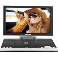 SYLVANIA SDVD1256 Portable DVD Player - Black & White, Black