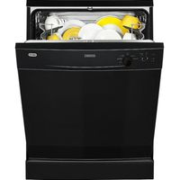 ZANUSSI ZDF21001NA Full-size Dishwasher - Black, Black