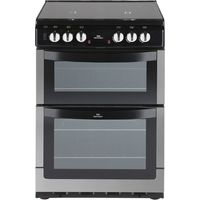 NEW WORLD 601DFDOL Dual Fuel Cooker - Stainless Steel, Stainless Steel