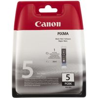 CANON PGI-5BK Black Ink Cartridge, Black