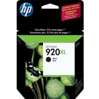 HP 920XL Black Ink Cartridge, Black