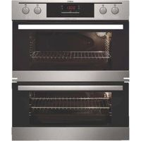 AEG NC4013021M Electric Double Oven - Stainless Steel, Stainless Steel
