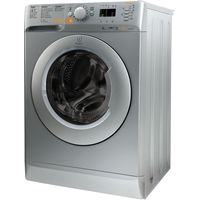 INDESIT Innex XWDE751480XS Washer Dryer - Silver, Silver