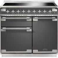 RANGEMASTER Elise 100 Electric Induction Range Cooker - Slate & Chrome