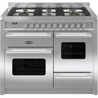 BRITANNIA Delphi 110 XG Dual Fuel Range Cooker - Stainless Steel, Stainless Steel