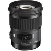 SIGMA  50 mm f/1.4 DG HSM A Standard Prime Lens - for Nikon