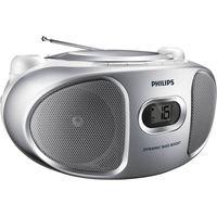 PHILIPS AZ105S/05 Portable Stereo - Silver, Silver