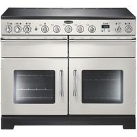RANGEMASTER Excel 110 Electric Induction Range Cooker - Ivory & Chrome, Ivory