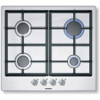 SIEMENS EC615PB90E Gas Hob - Stainless Steel, Stainless Steel